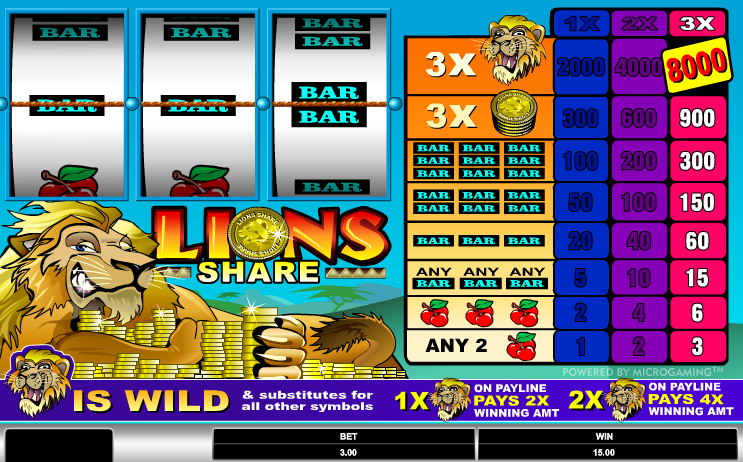 Online Casinos Slots by Microgaming